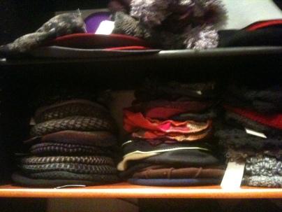 Une petite partie des berets.