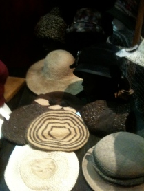 Capelines et berets