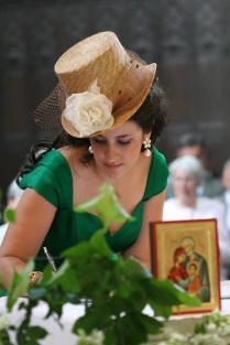 Un joli portait avec un chapeau crée sur commande.