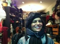 Un beret chaud et Glamour