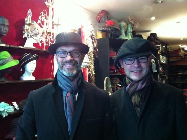David et PaulDeux canadiens à Paris