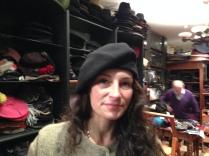 Clara, un beret en laine Beret destructuré, bien chaud