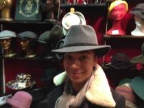 Florence un chapeau d'homme en feutre chaud et impermeable