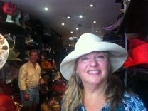 Roller hat. Perfect for Travelling!